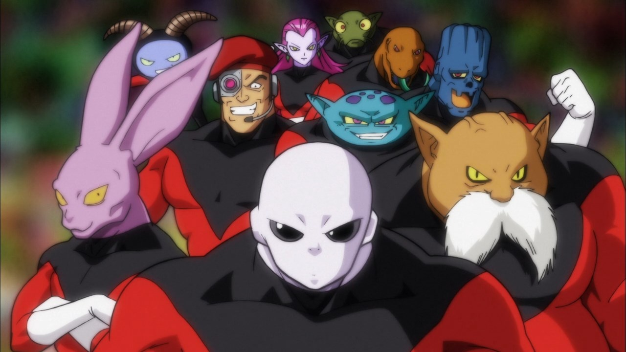 Jiren and Pride Troopers