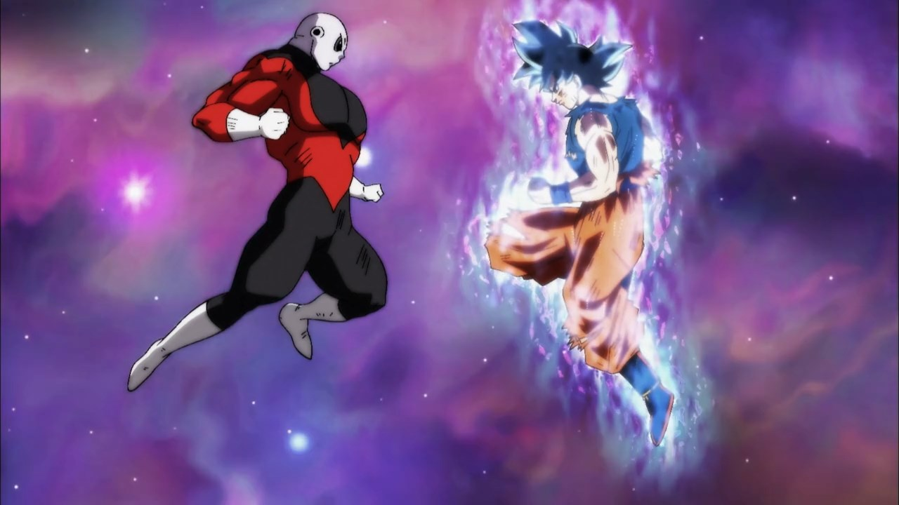 """Résultat de recherche d'images pour """"dragon ball super jiren vs goku"""""""