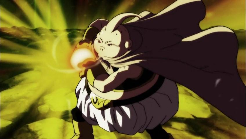 Dragon Ball Super - Majin Buu Kamehameha VS Basil