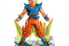 Figurine Dragon Ball Z - Son Goku - Banpresto Super Master Stars Diorama