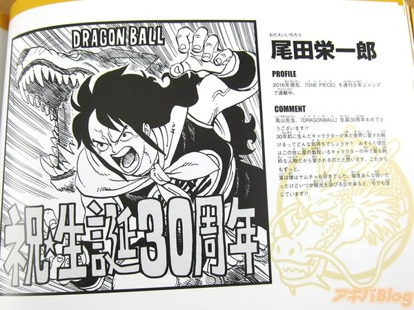 Dragon Ball dessiner par d'autres Mangakas	 Eiichir%C3%B4-Oda-One-Piece-