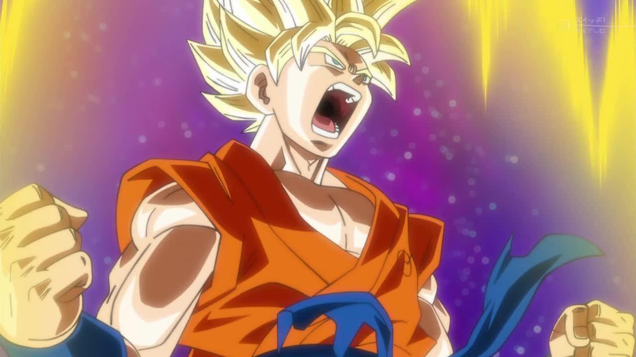 Dragon Ball Super Goku SSJ VS Frost