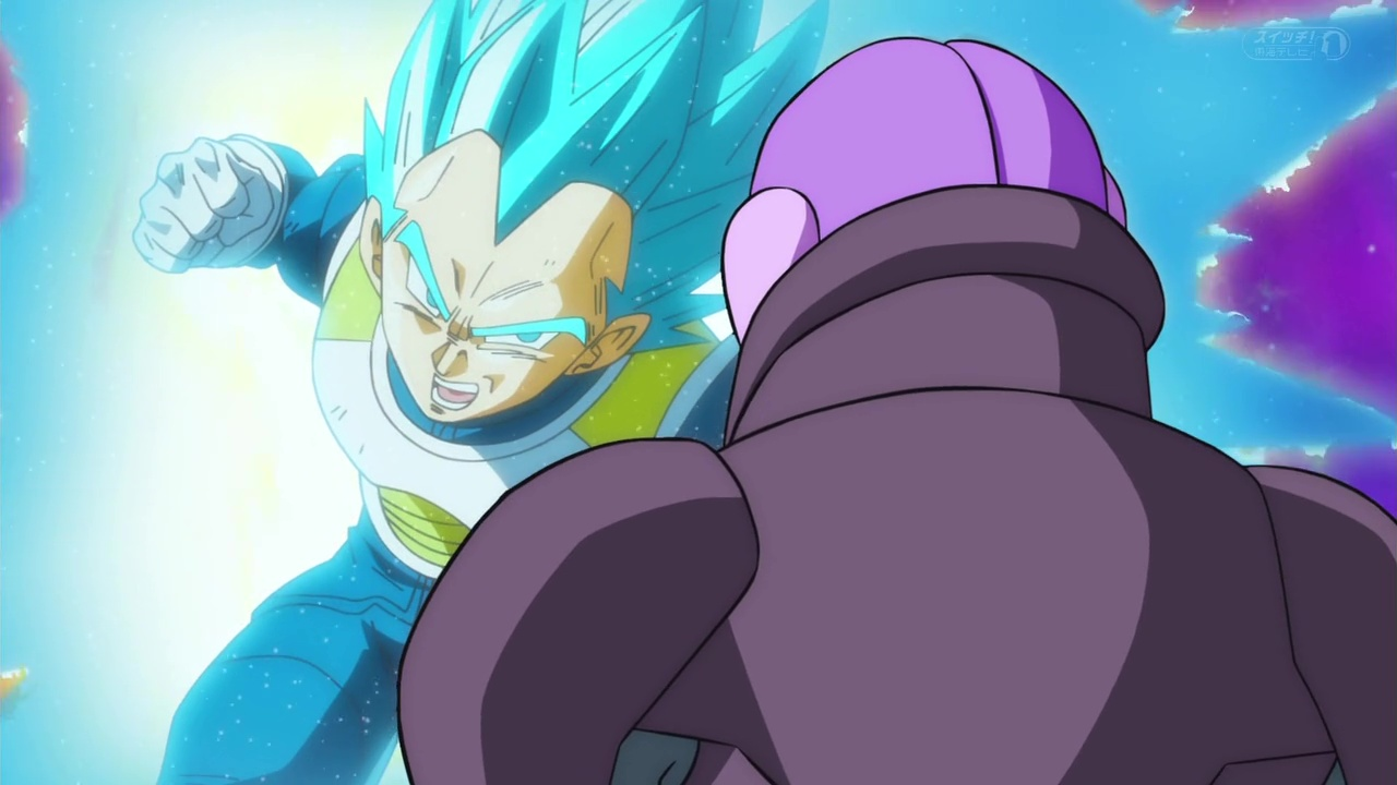 Dragon Ball Super vegeta SSGSS VS hit