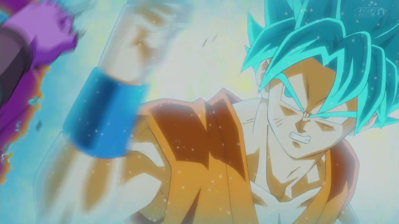 dragon Ball super goku ssb vs hit