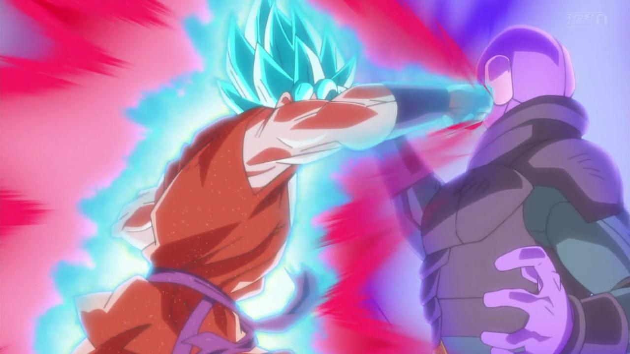 dragon ball super goku kaioken x10 vs hit