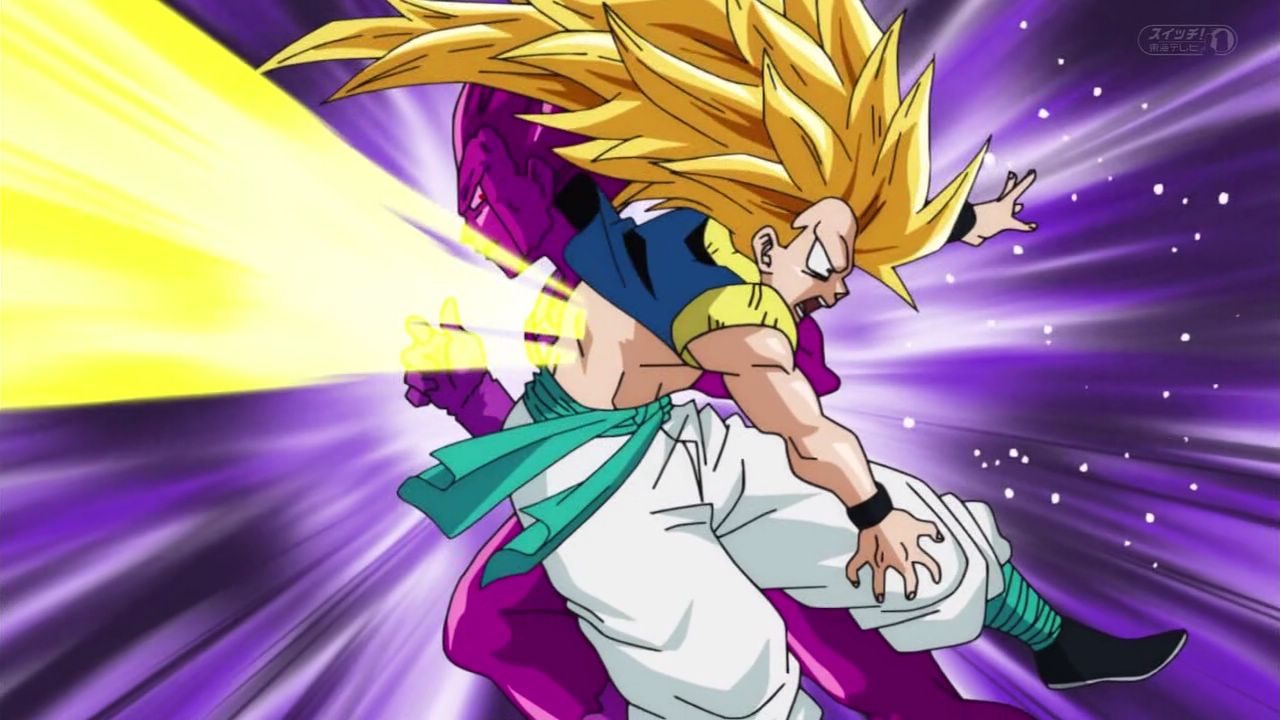 dragon ball super gotenks ssj3 vs copy Vegeta