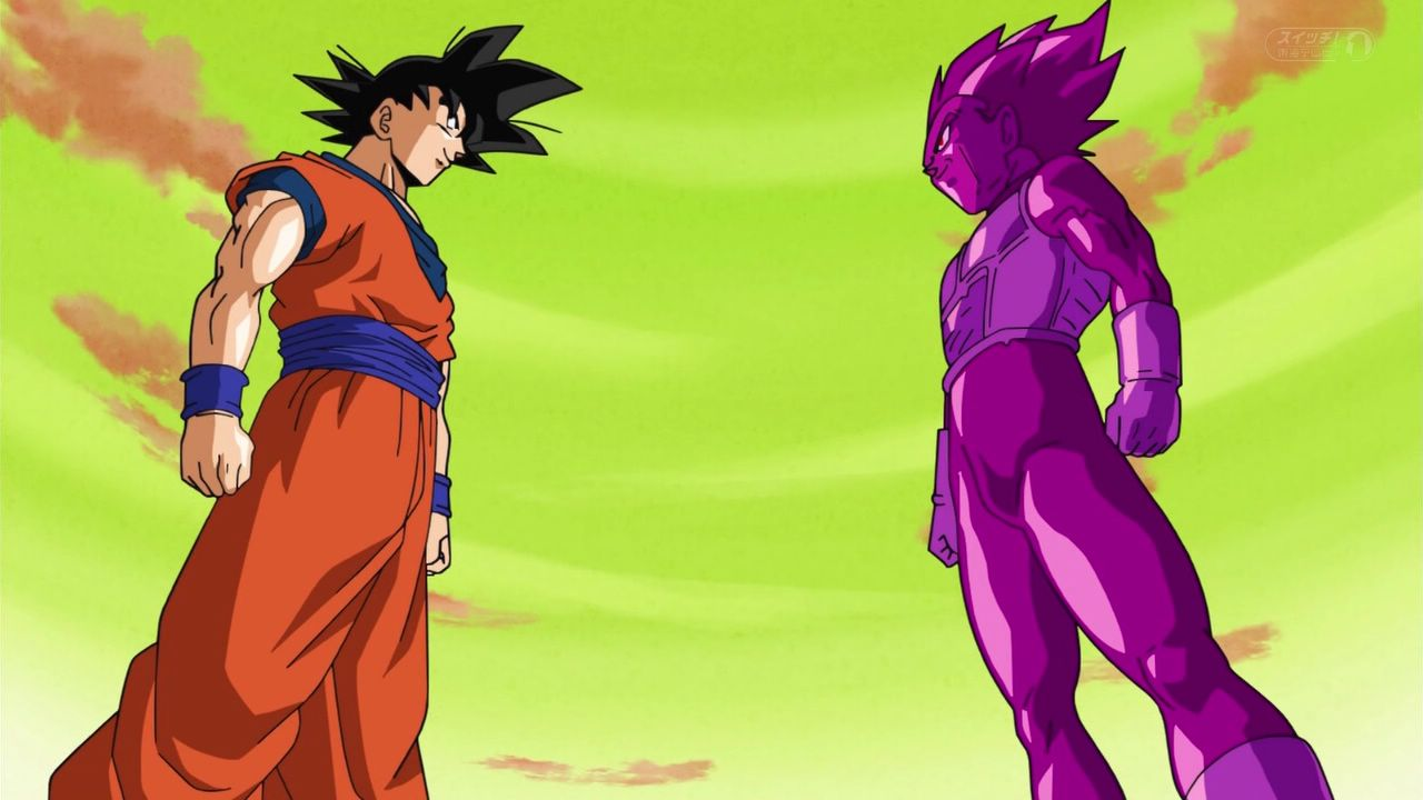dragon ball super goku vs copy vegeta