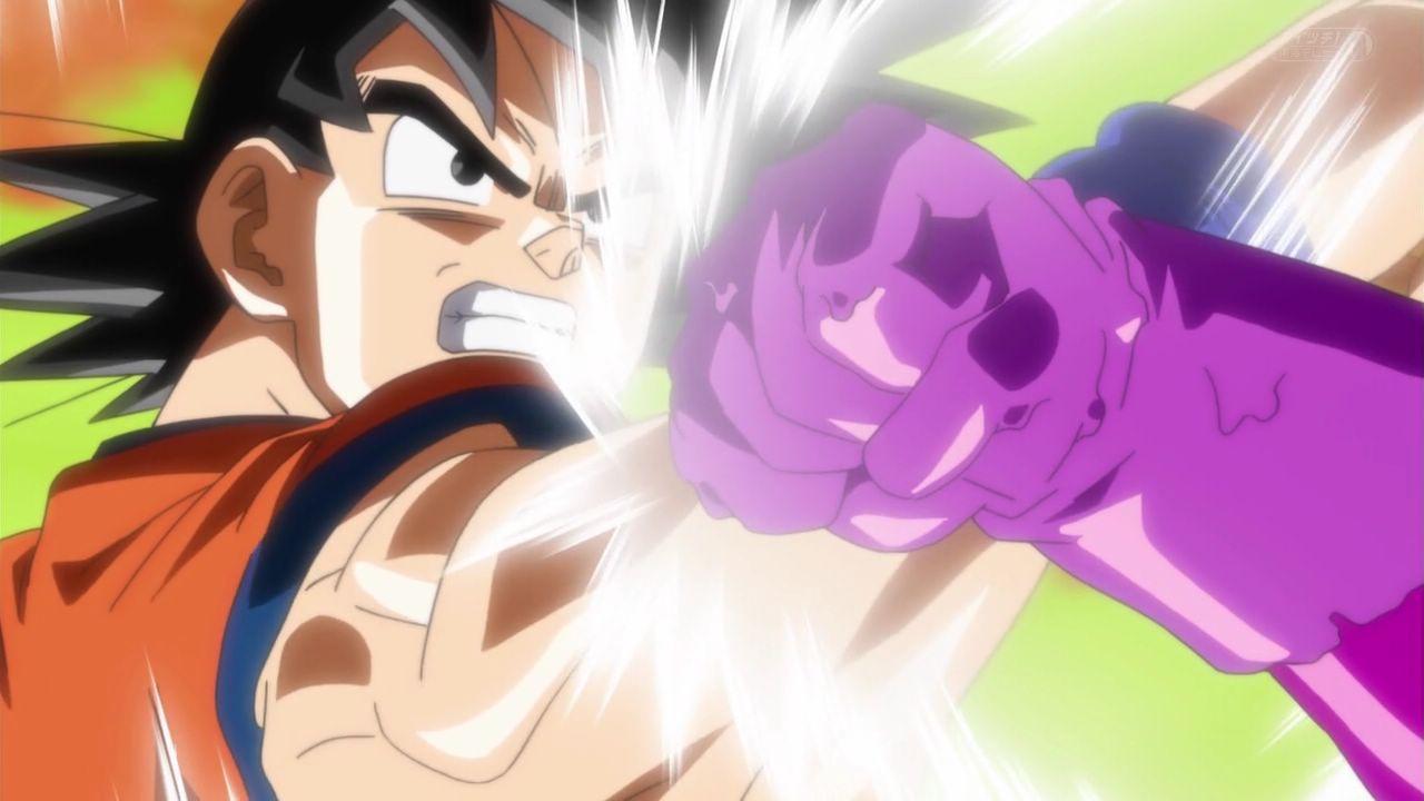 Dragon Ball Super goku vs vegeta