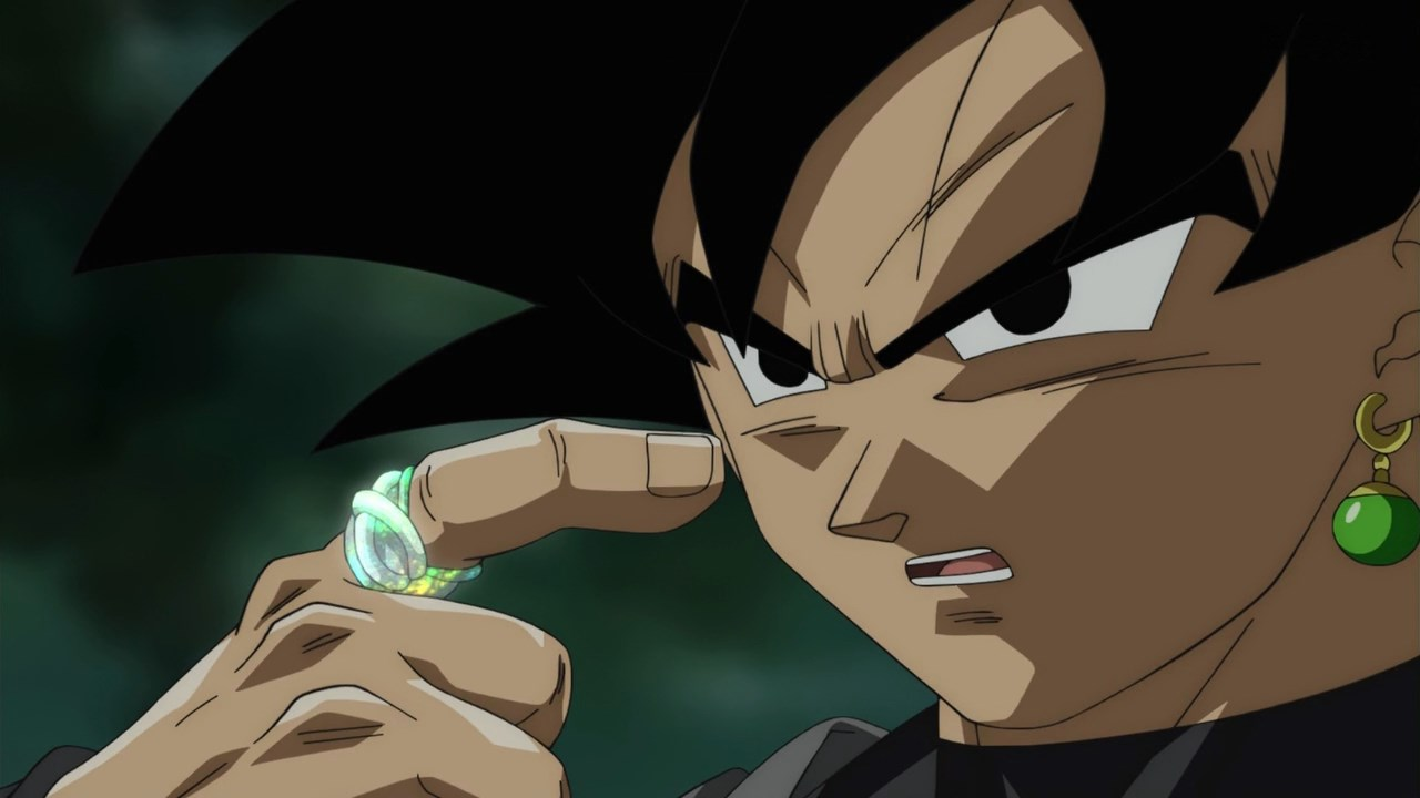 Dragon Ball Super Black Goku anneau du temps