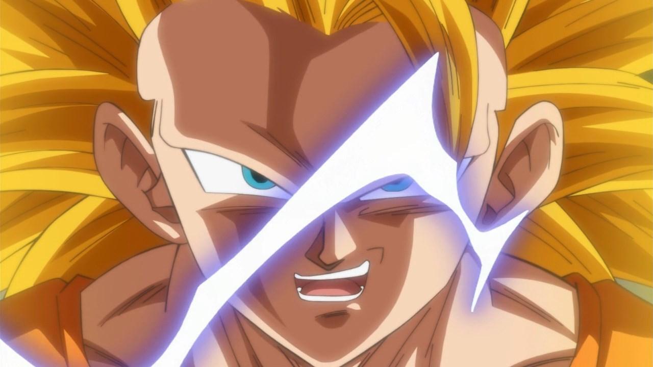 Dragon Ball Super Goku SSJ3 VS Trunks