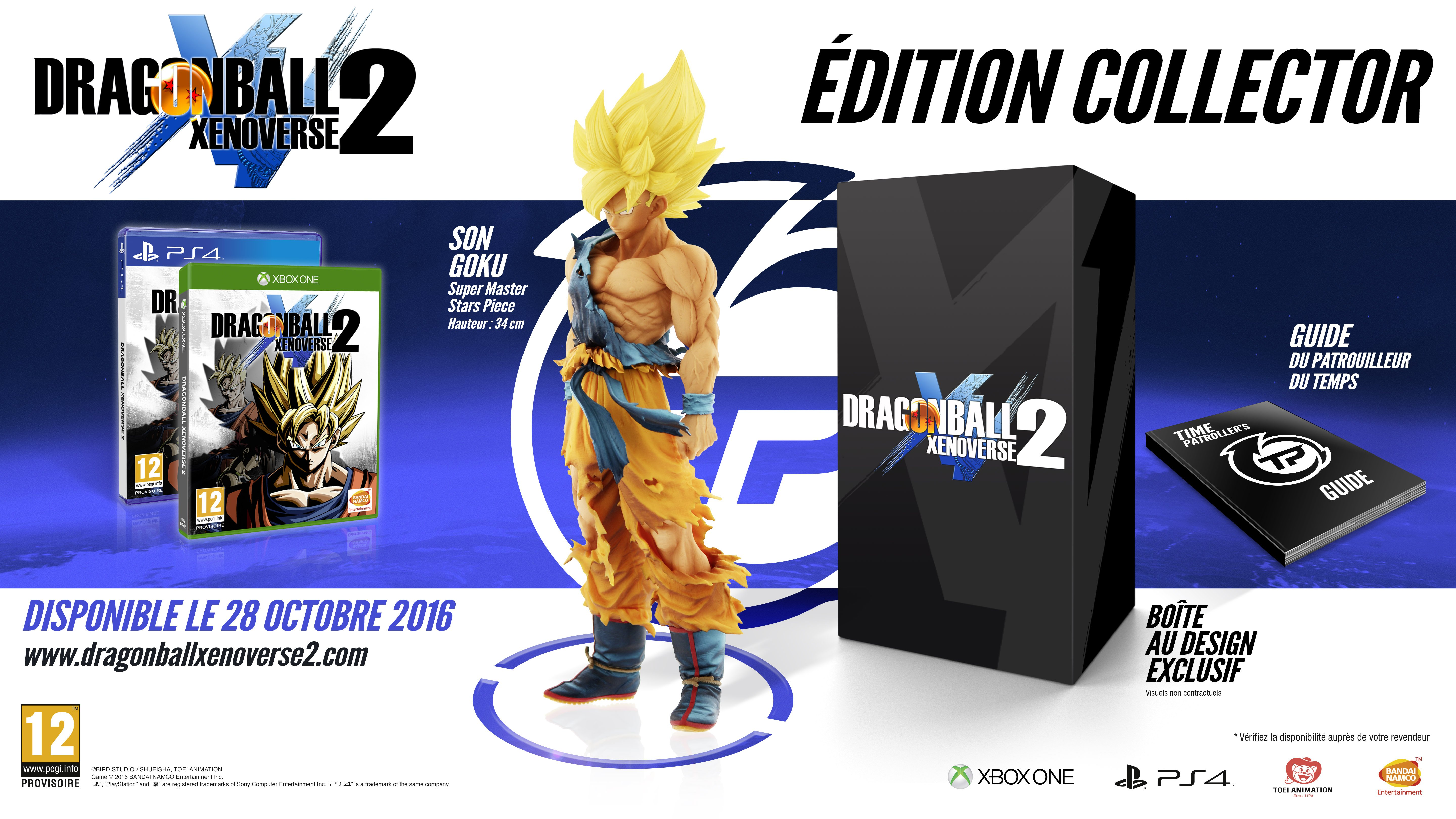 Dragon Ball Xenoverse 2 - Collector PS4 XBOX ONE