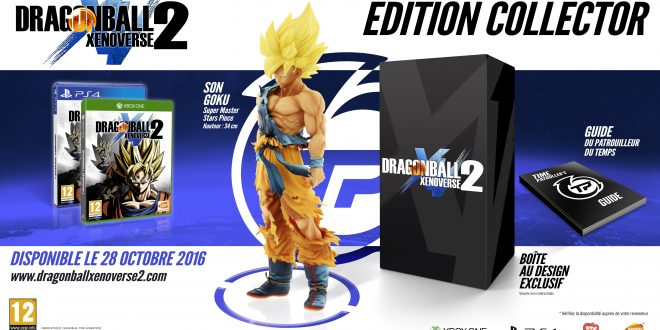 Dragon Ball Xenoverse 2 - Jaquette Collector