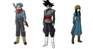 Dragon Ball Super : Nouveaux artworks pour Black, Mirai Trunks et Mirai Mai