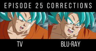 Dragon Ball Super épisode 25 retouché