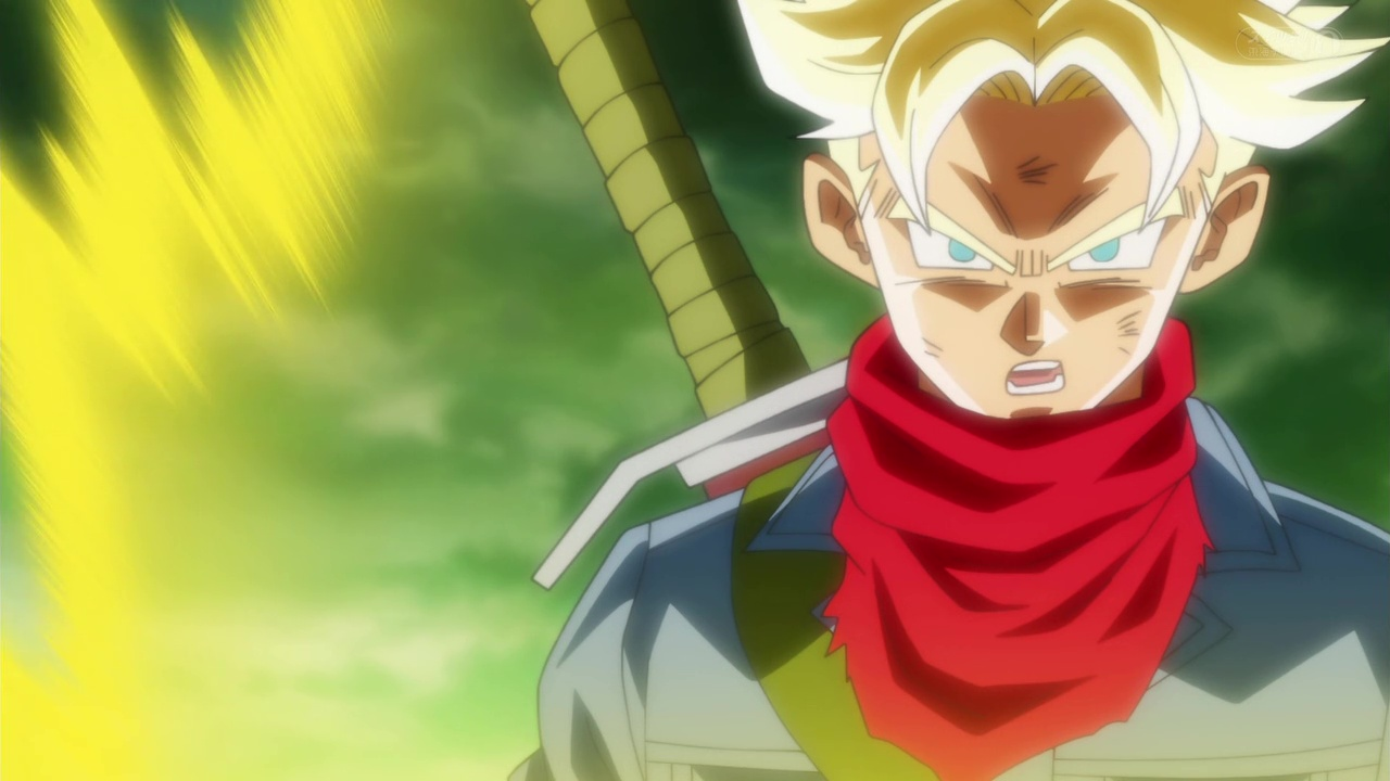 Dragon Ball Super - Mirai Trunks SSJ