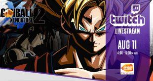 Dragon Ball Xenoverse 2 : Premier Live Twitch de Bandai Namco