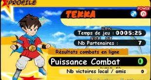 Dragon Ball Fusions : Traduction des menus