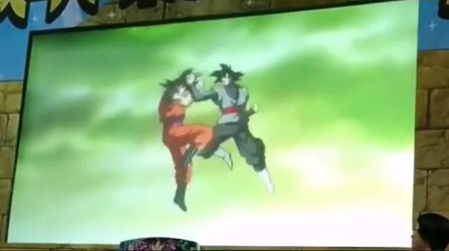 Black VS Goku - Dragon Ball Heroes GDM10
