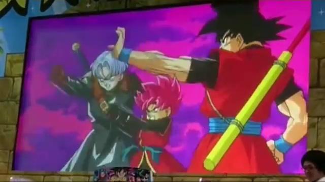 Goku Xeno - Trunks Xeno - Dragon Ball Heroes GDM10