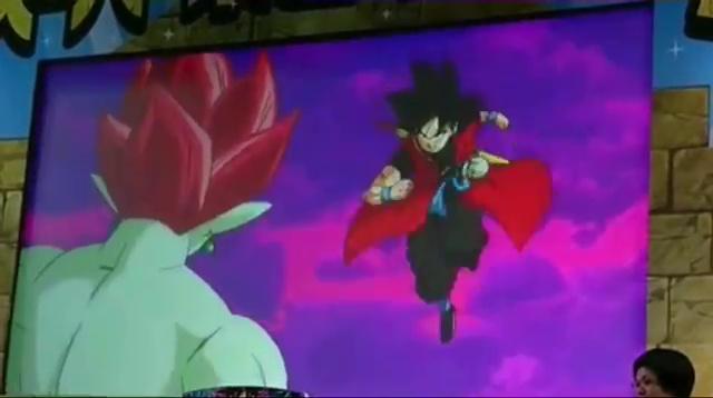 Goku Xeno VS Demigra - Dragon Ball Heroes GDM10