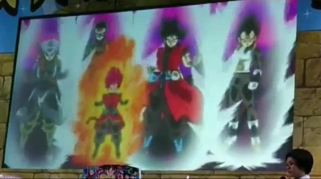 Goku Xeno - Trunks Xeno - Vegeta - Gohan - Dragon Ball Heroes GDM10