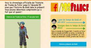 """Le site officiel de Dragon Ball Super détaille la chronologie de l'arc """"Mirai Trunks"""""""