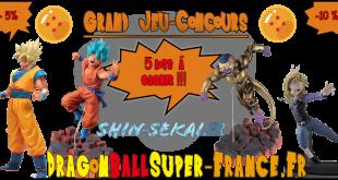 Jeu Concours Dragon Ball Super : 5 lots à gagner !