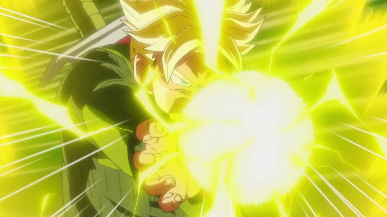 Dragon Ball Super - Mirai Trunks Final Flash