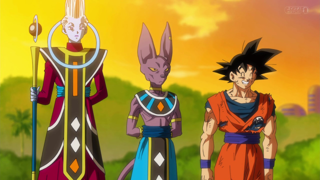 Dragon Ball Super Whis Beerus Goku