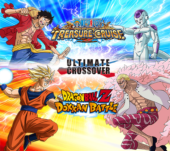 Un event crossover entre Dragon Ball Z Dokkan Battle et One Piece Treasure Cruise