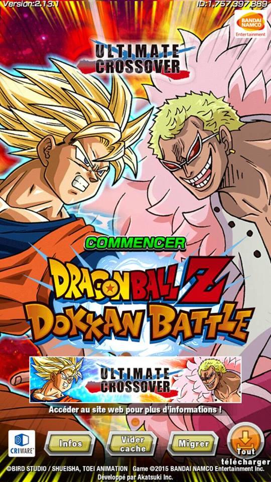 Arrivée de la version 2.13.1 de l'édition localisée de Dragon Ball Z Dokkan Battle