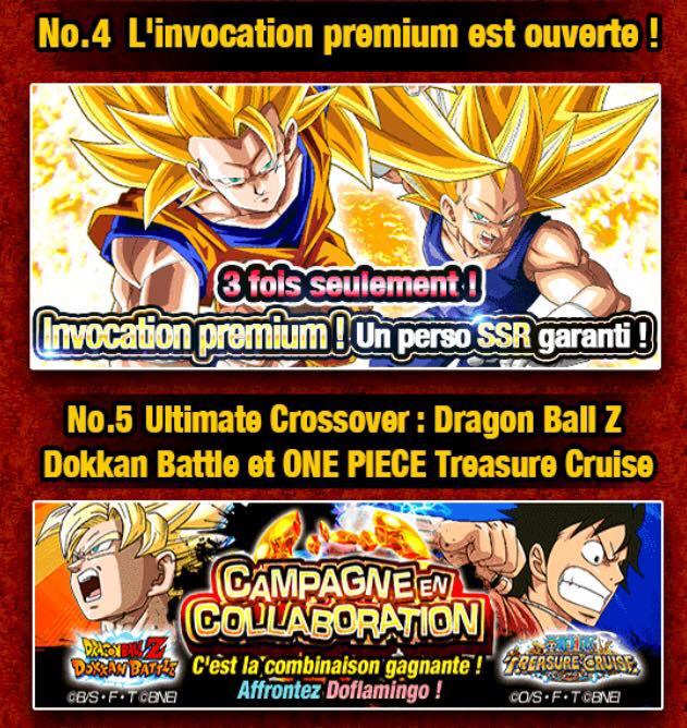 100 millions de téléchargement pour l'édition localisée de Dragon Ball Z Dokkan Battle