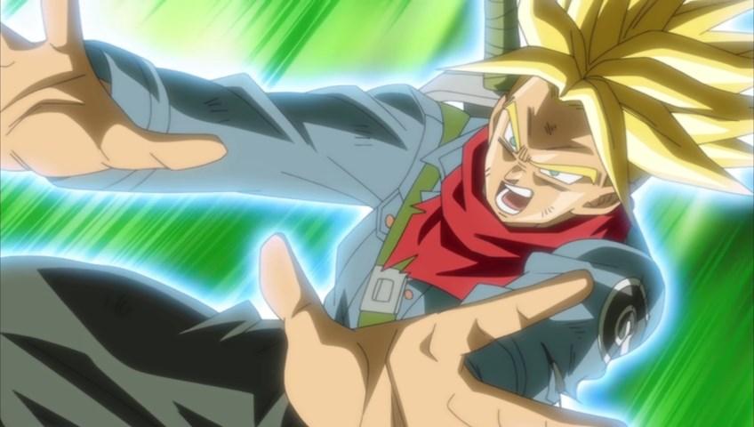 Dragon Ball Super Trunks Mafuba