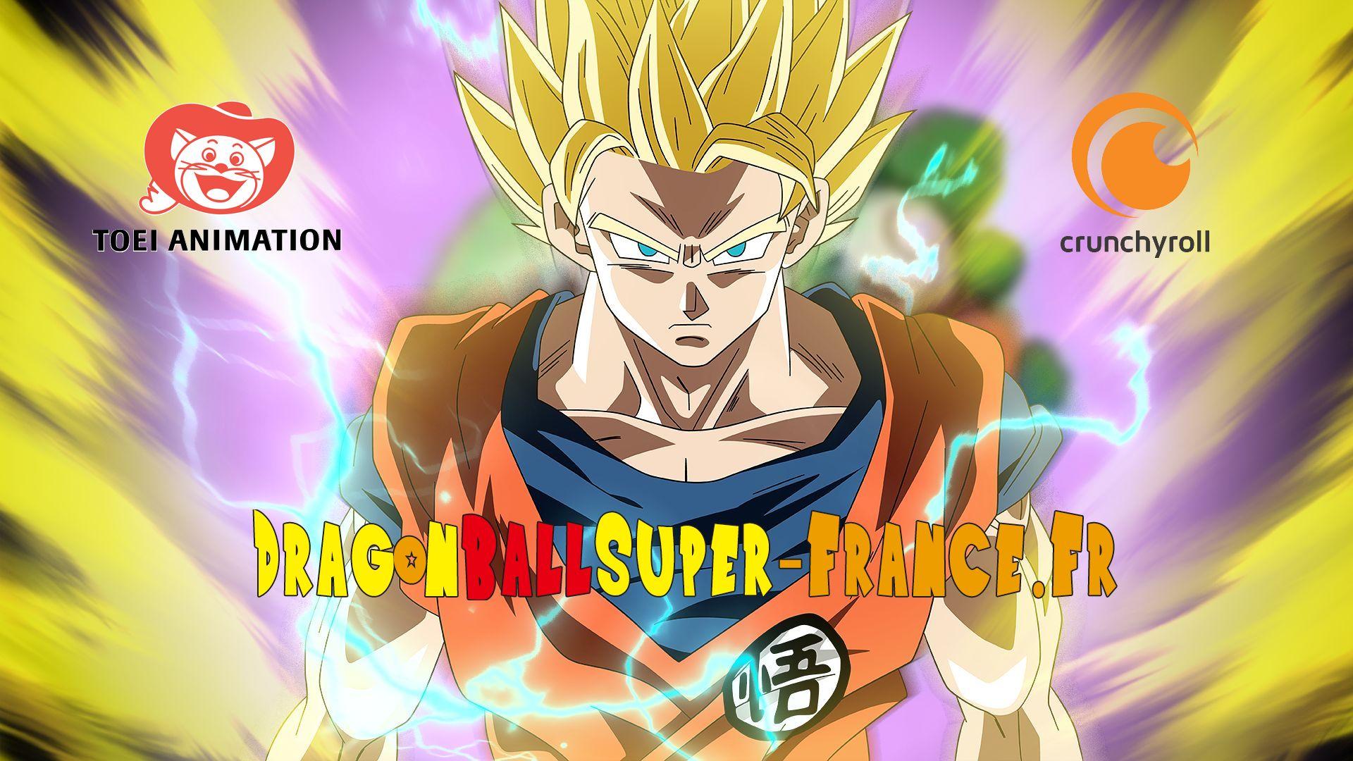 Toei Animation et Crunchyroll ont annoncé une diffusion Simulcast de Dragon Ball Super