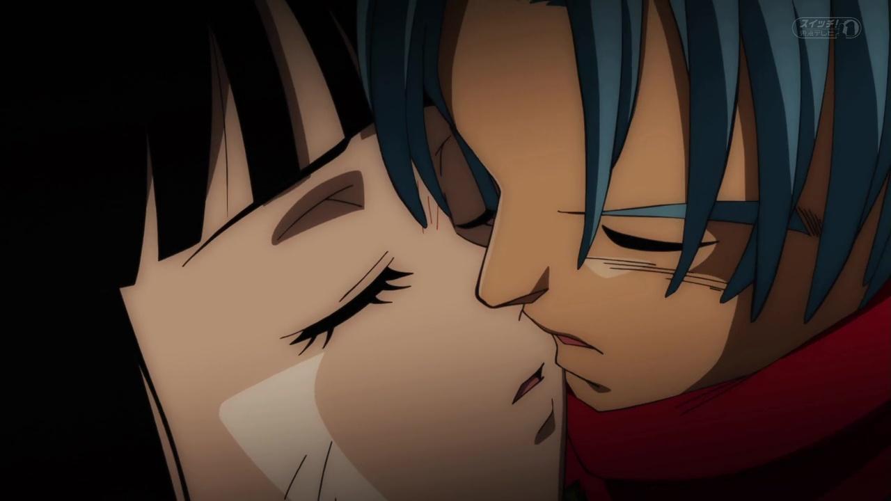 Dragon Ball Super Trunks Kiss Mai