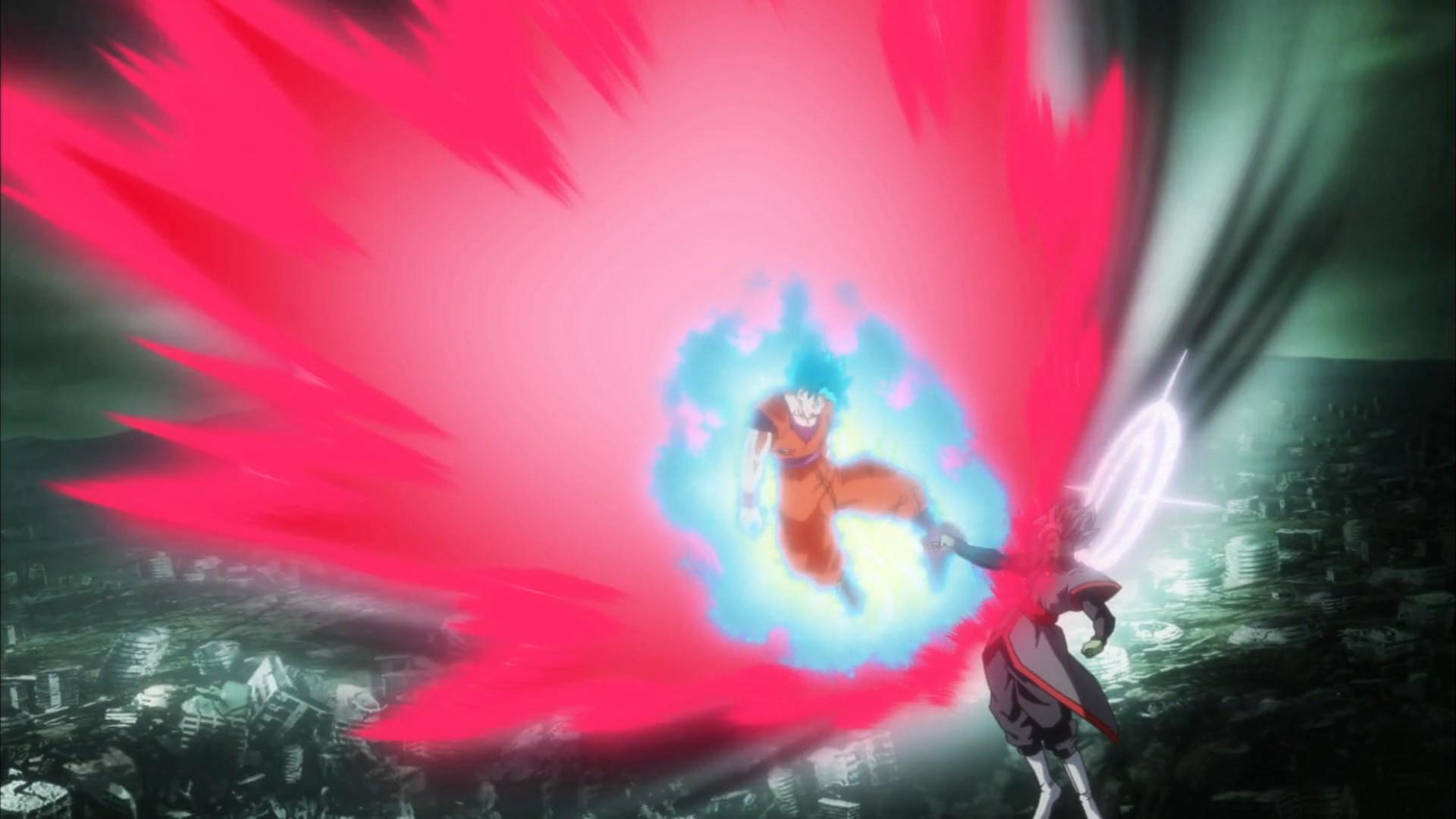 Goku SSJ Blue Kaioken VS Zamasu