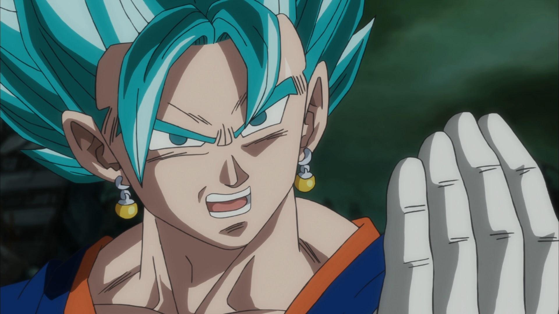 Vegetto SSJ Blue Dragon Ball Super