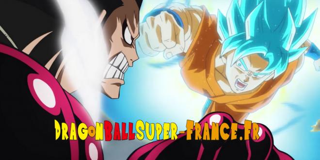 Gokû Super Saiyan Blue contre Luffy Gear 4 sur Nintendo 3DS