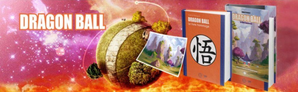 Sortie de Dragon Ball le Livre Hommage