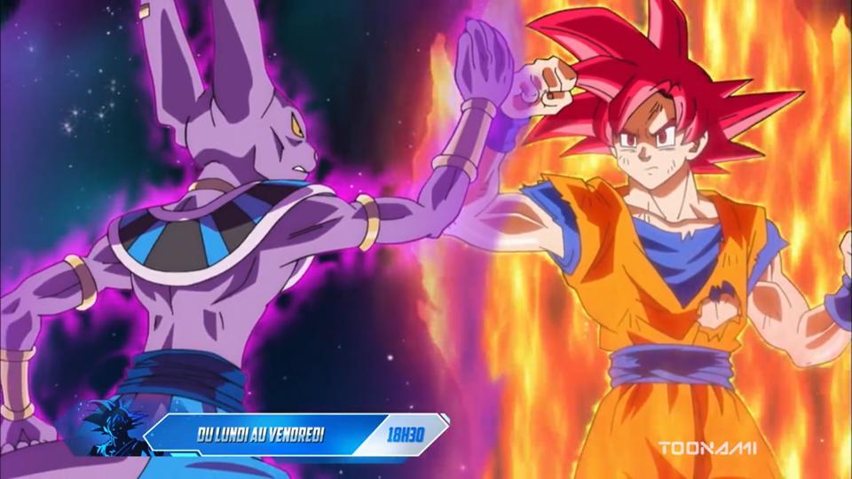 Toonami dévoile une nouvelle bande annonce pour Dragon Ball Super (VF)