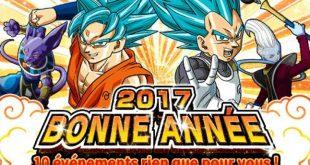 Venez fêter le passage à la nouvelle année avec Dragon Ball Z Dokkan Battle