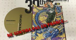 Pas de sortie française pour le livre des 30 ans de Dragon Ball