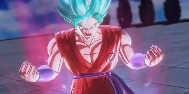 Dragon Ball Xenoverse 2 : Gokû SSGSS Kaioken x10 se montre en vidéo