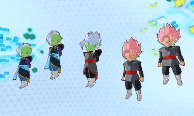 Semaine 2 et 3 de la quête Vortex Espace Temps dans Dragon Ball Fusions