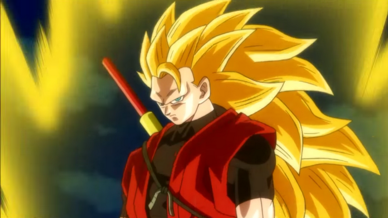 Mission 2 Super Dragon Ball Heroes Goku Xeno SSJ3