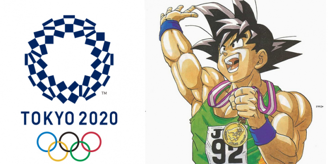 gok le personnage central de dragon ball sera l 39 ambassadeur des jeux olympiques 2020 dragon. Black Bedroom Furniture Sets. Home Design Ideas