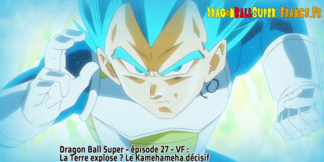 Dragon Ball Super Épisode 27 : Diffusion française