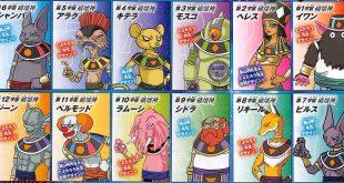 Dragon Ball Super : Les 12 Dieux de la Destruction présentés