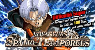 Dragon Ball Z Dokkan Battle : Voyageurs Spatio-Temporels