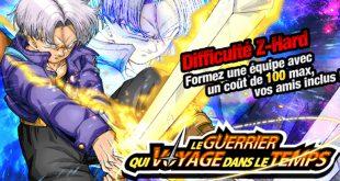 Dragon Ball Z Dokkan Battle : Le Guerrier qui Voyage dans le Temps